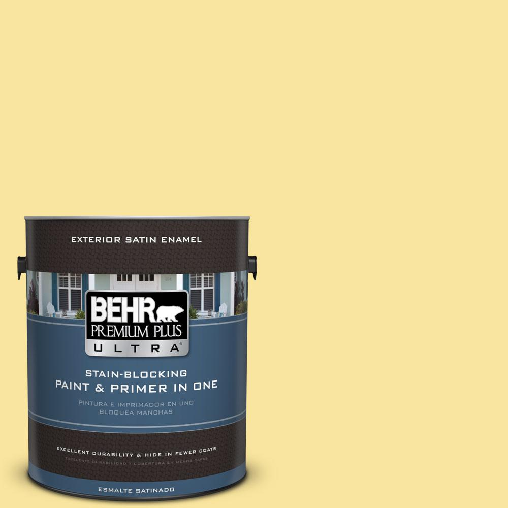 BEHR Premium Plus Ultra 1-gal. #P310-4 Storm Lightning Satin Enamel Exterior Paint