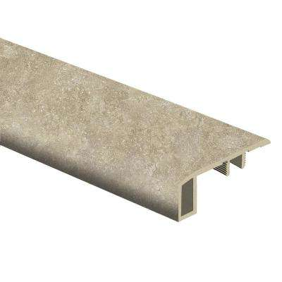Breezy Stone 7/16 in. Thick x 1-3/4 in. Wide x 72 in. Length Vinyl Carpet Reducer Molding