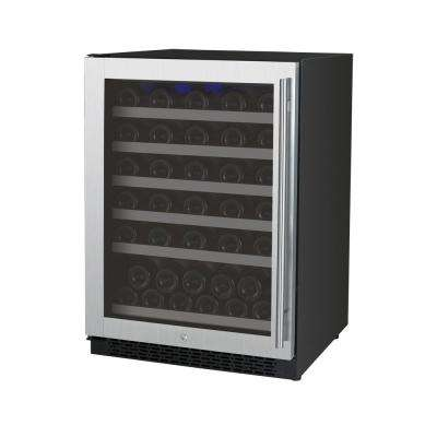 FlexCount Series 56-Bottle Single Zone Wine Storage Unit with Left Hinge