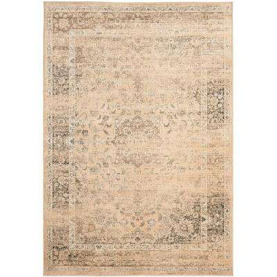 Vintage Warm Beige 7 ft. 6 in. x 10 ft. 6 in. Area Rug