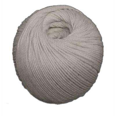 2 MM x 400 Feet Polished Beef Cotton Twine Cotton and Polyester Twine Blend