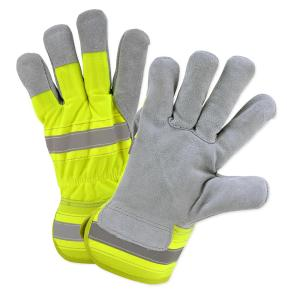 NEW Rugged Wear Safety Hi-Dexterity Work Gloves 1 Pair High Visibility or ..