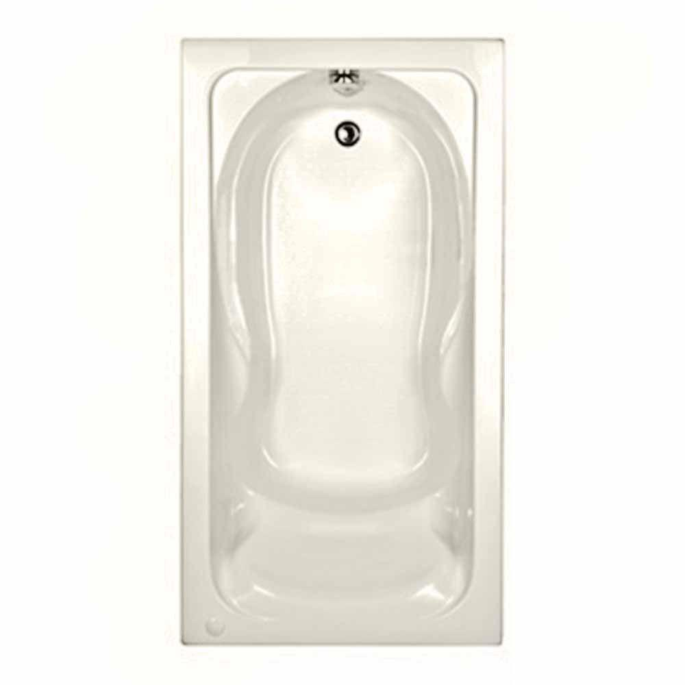 Cadet 5 ft. x 32 in. Reversible Drain Soaking Bathtub in