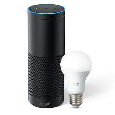 Echo Plus and Philips Hue Bulb, Black