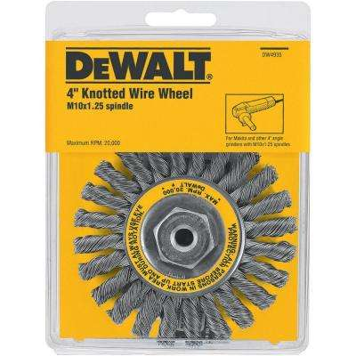 4 in. Full Cable Twist Wire Wheel
