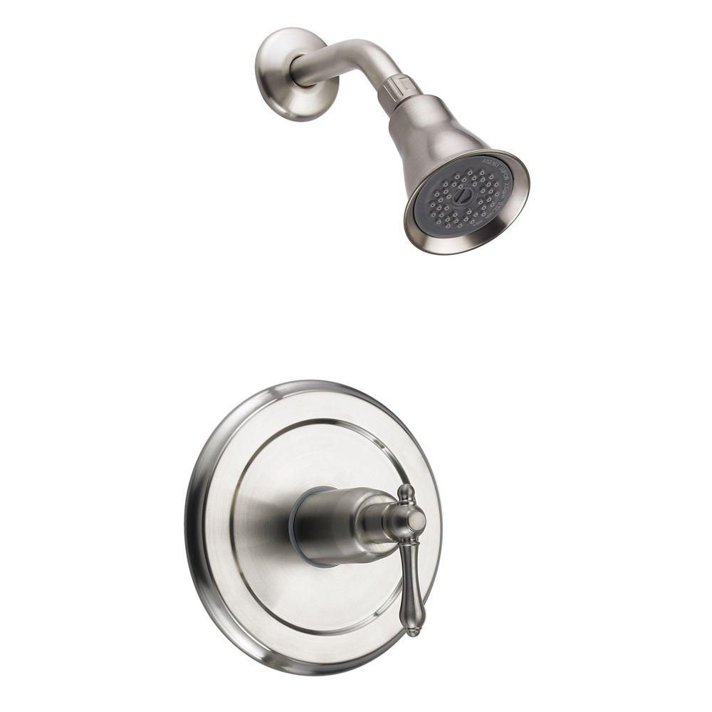 Fontaine Bellver 1 Handle Spray Tub And Shower Faucet In Brushed Nickel
