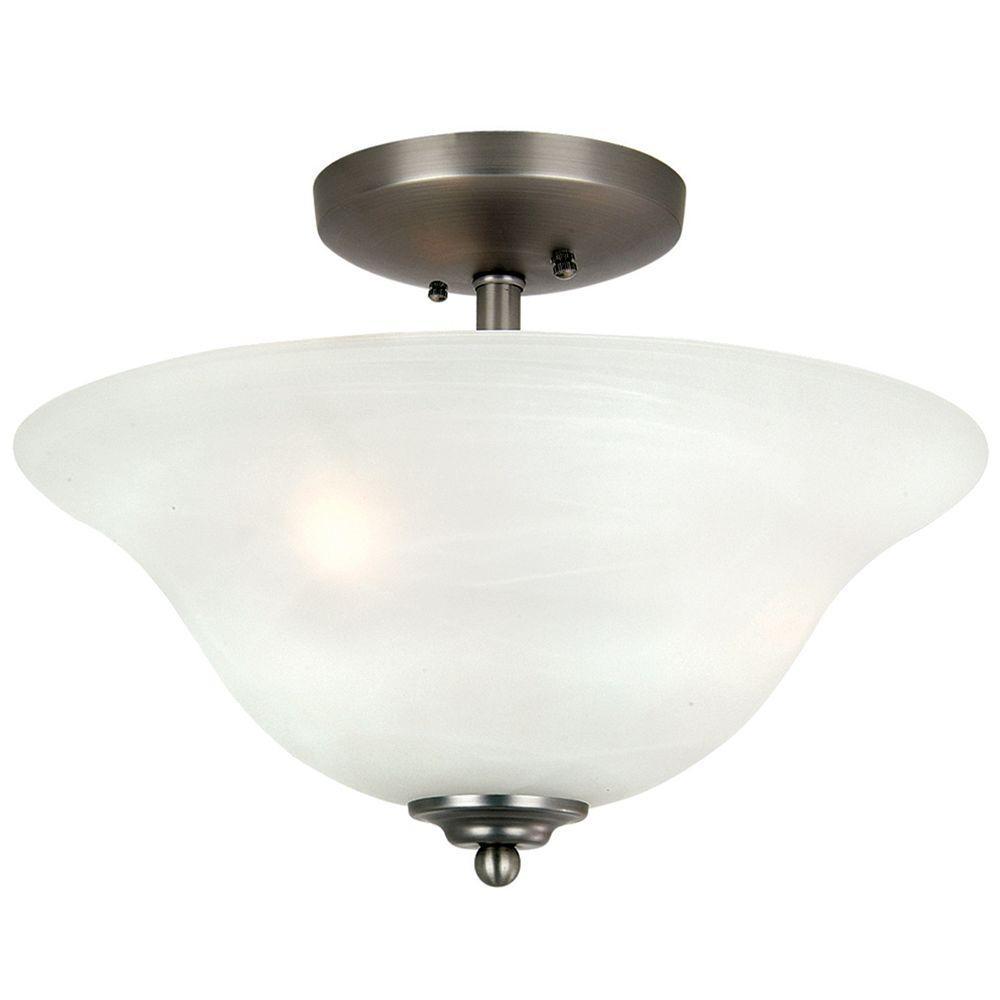 Yosemite Home Decor Bridalveil lighting collection 3-Light Flushmount Light-DISCONTINUED