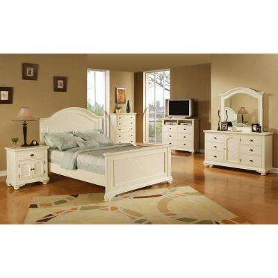 Queen - White - Bedroom Sets - Bedroom Furniture - The Home Depot