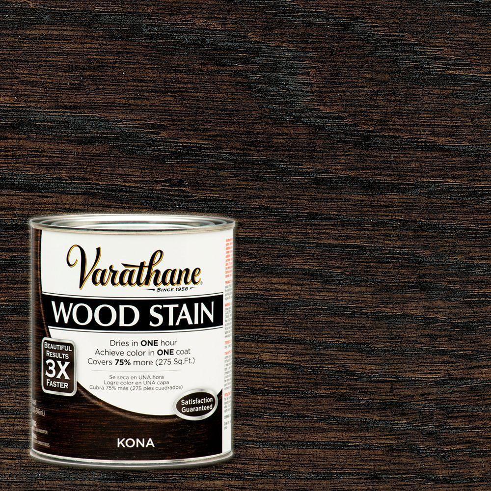 1 qt. 3X Kona Premium Wood Stain (Case of 2)