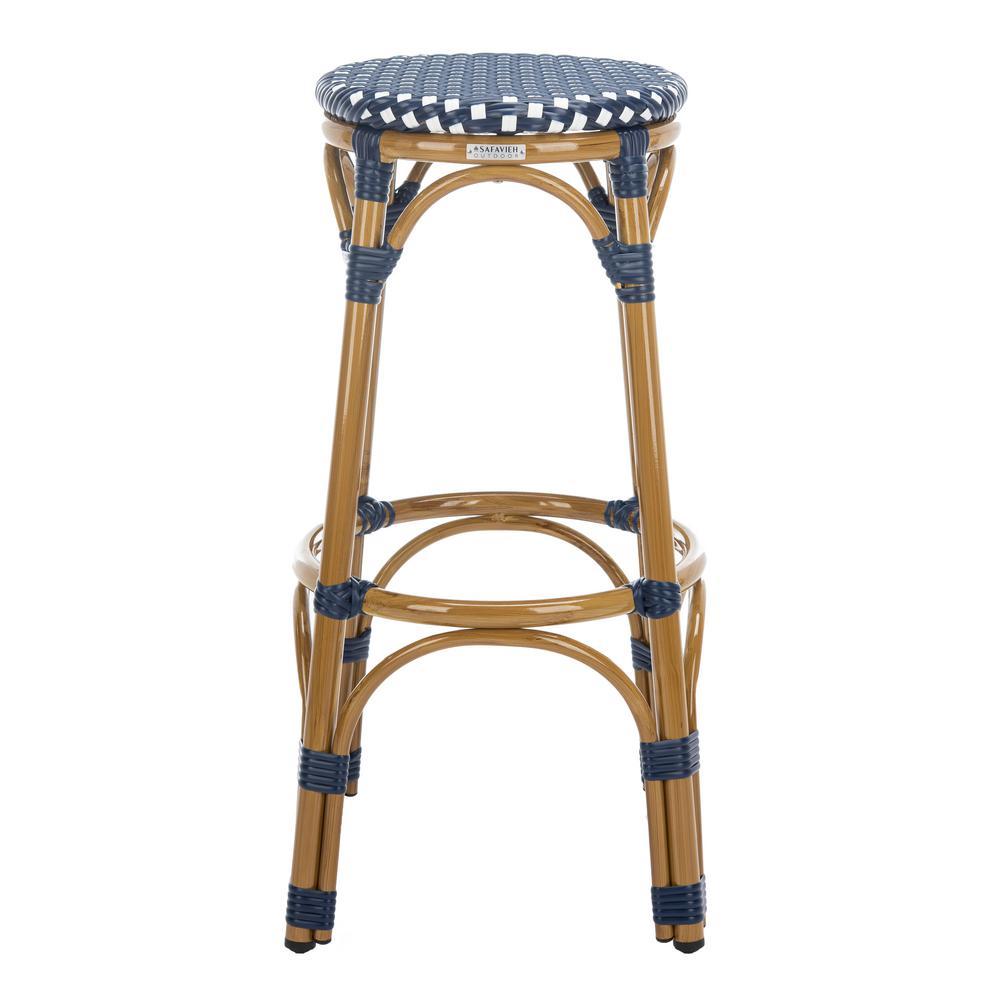 Sensational Blue 4 Legs Round Seat Bar Stools Kitchen Dining Cjindustries Chair Design For Home Cjindustriesco