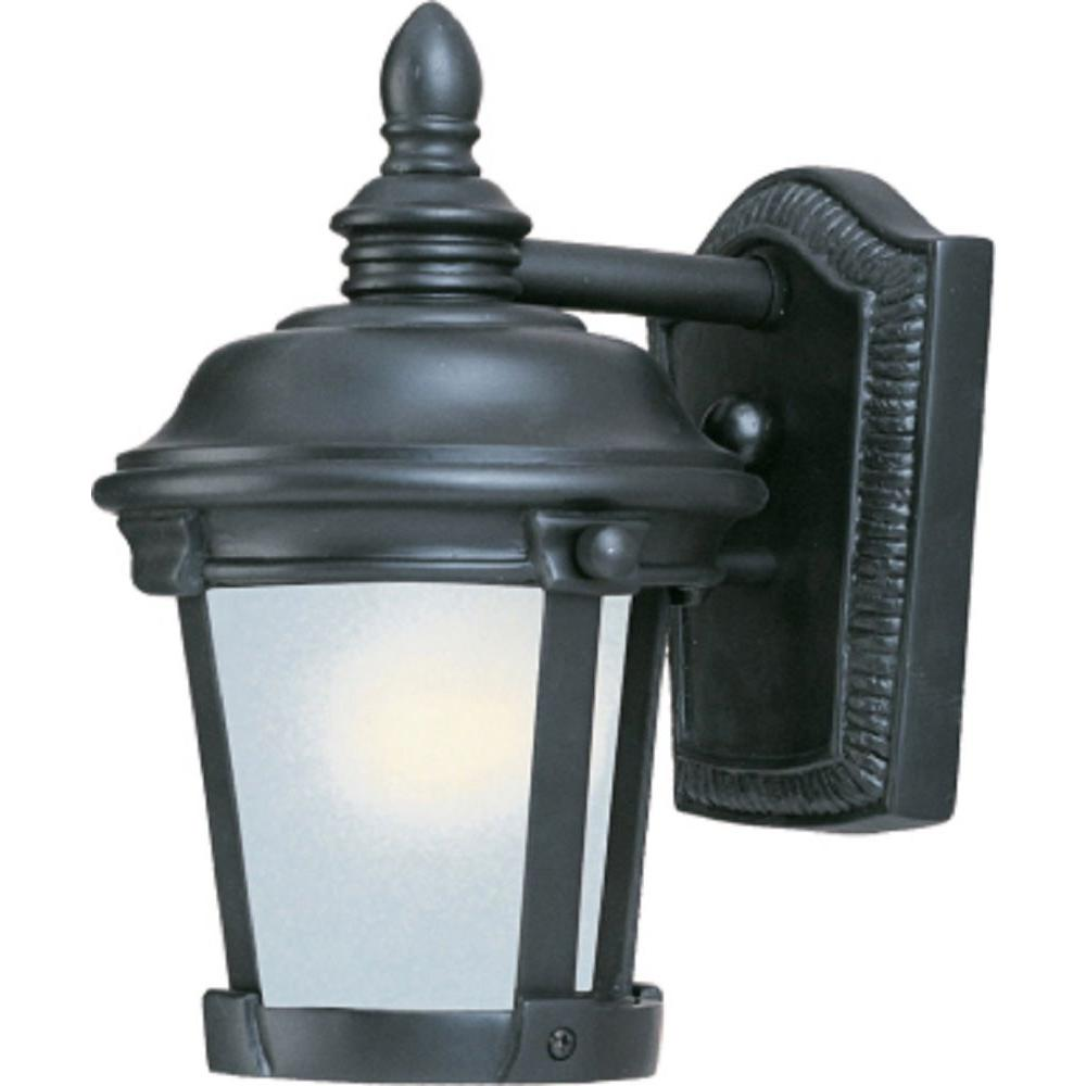 Dover EE 1-Light Bronze Outdoor Wall Mount