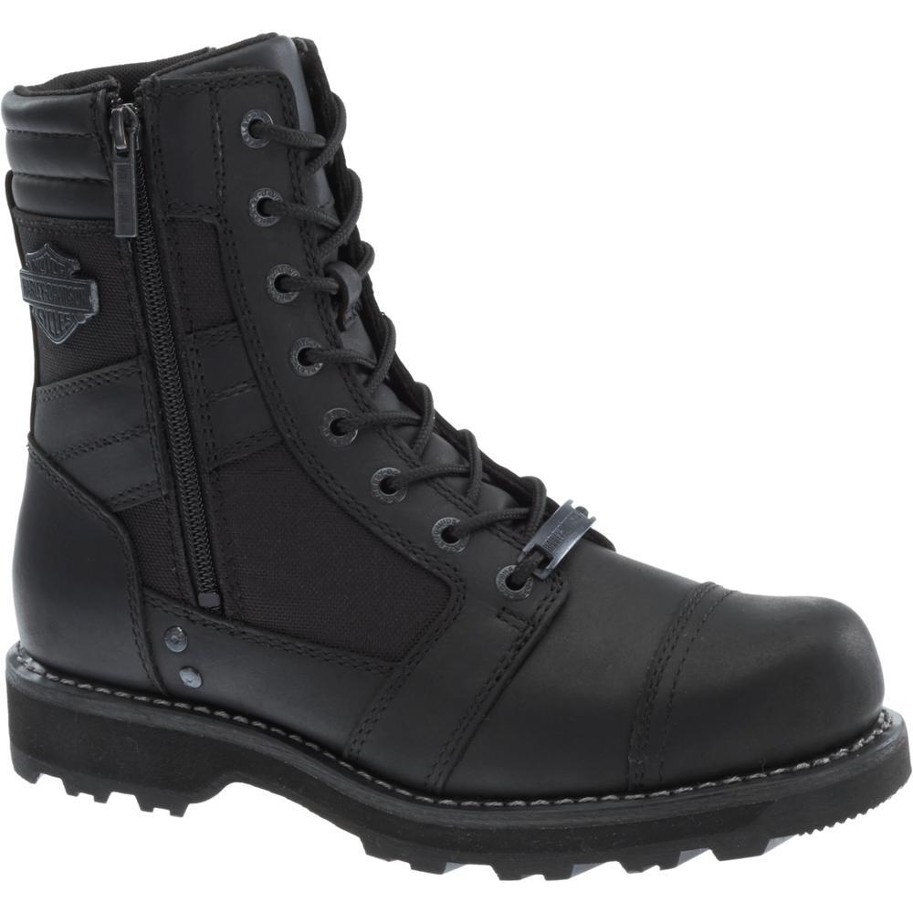 adfa8ee51c6a Harley-Davidson Dipstick Men s 10.0 W Black Steel Toe Boot-D91630 ...