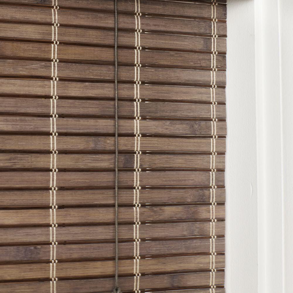 Home Depot Bamboo Blinds Driftwood