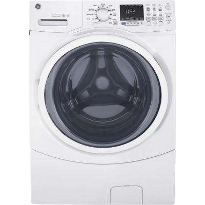 4.5 DOE cu. ft. Front Load Washer with Steam in White, ENERGY STAR