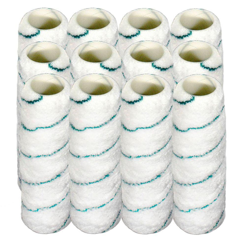 Linzer 9 in. x 3/8 in. Microfiber Paint Roller Cover (12-Pack)