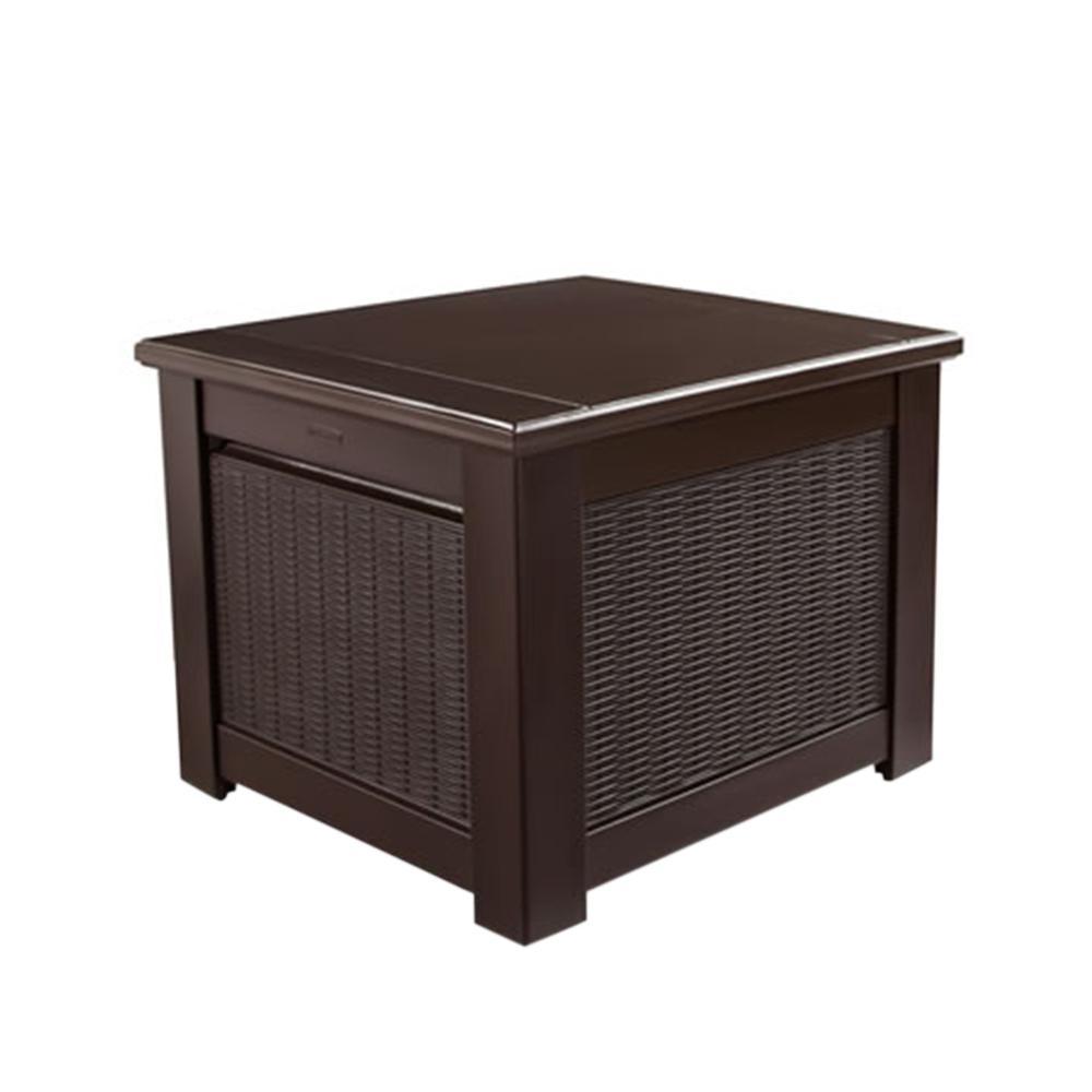 Bridgeport 56 Gal. Resin Storage Cube Deck Box