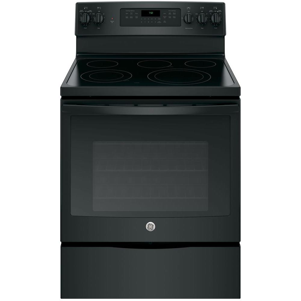 Electric Convection Oven ~ Ge cu ft electric range with self cleaning
