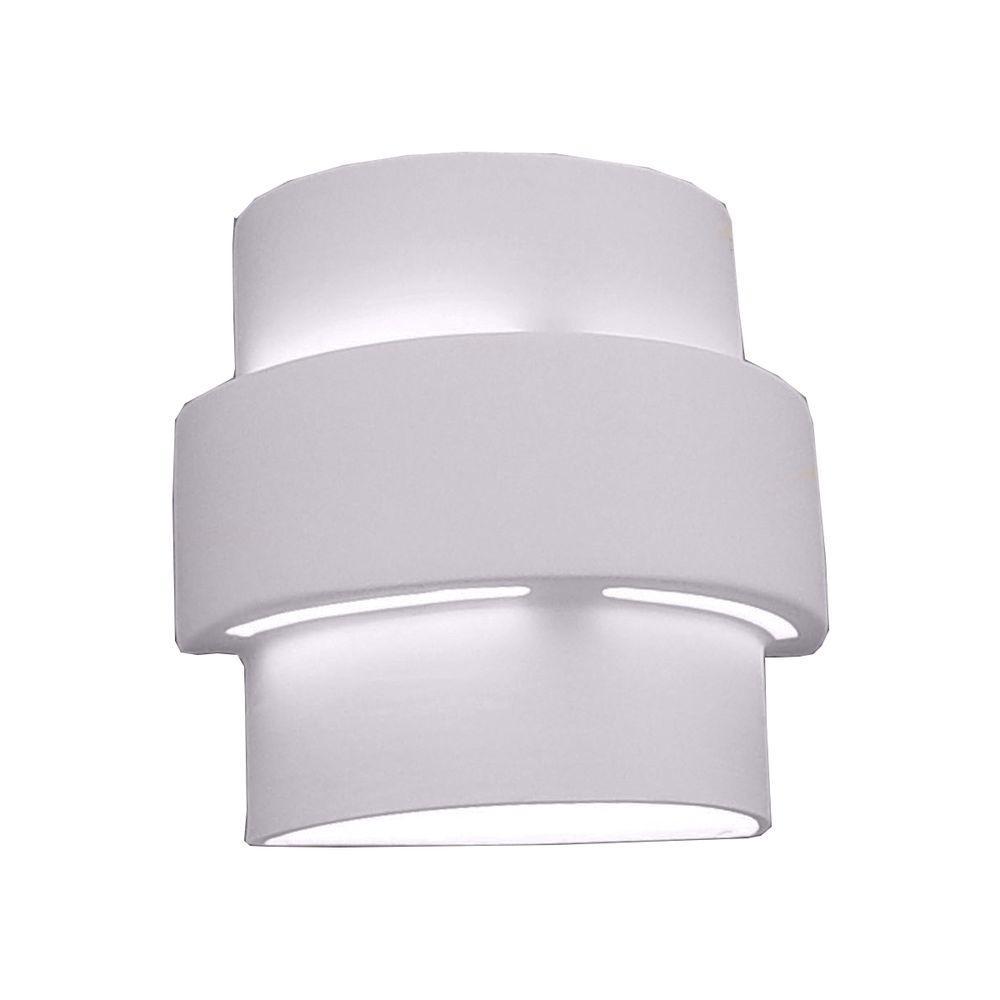 Filament Design Franklin Bisque Grey Ceramic Outdoor Wall Sconce-CLI ...