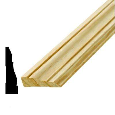 WM361 11/16 in. x 2-1/2 in. x 84 in. Solid Pine Pre-Mitered Casing Set
