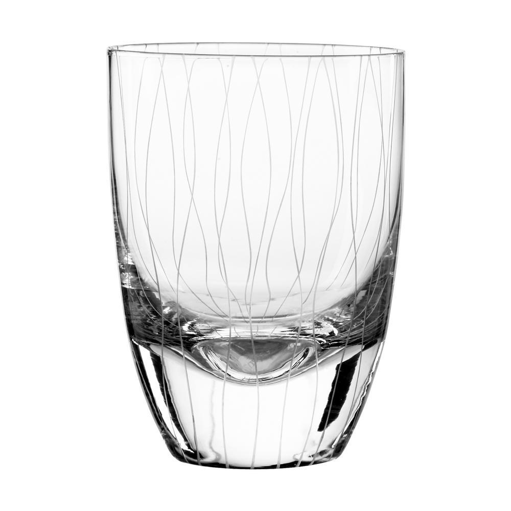 Breeze 15 oz. Double Old Fashioned Glass (4-Piece Set)