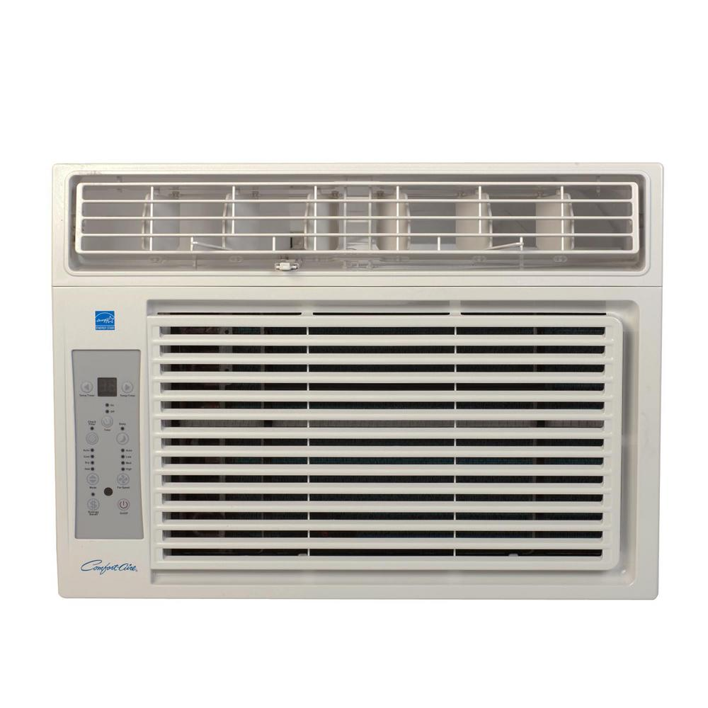 Comfort aire 12 000 btu window air conditioner with remote for 12000 btu ac heater window unit