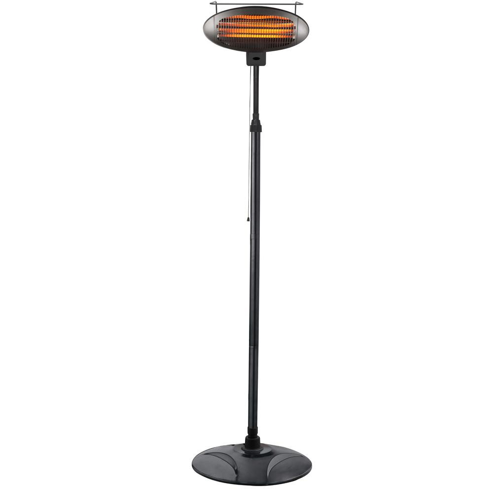 Attrayant 1500 Watt Free Standing Infrared Electric Patio Heater