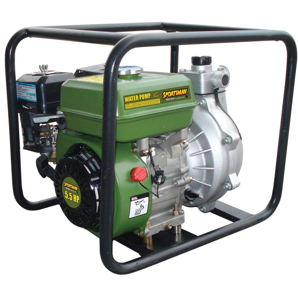 Buffalo Tools 5.5 HP Gas-Powered 1.5 in. High Pressure Water Pump