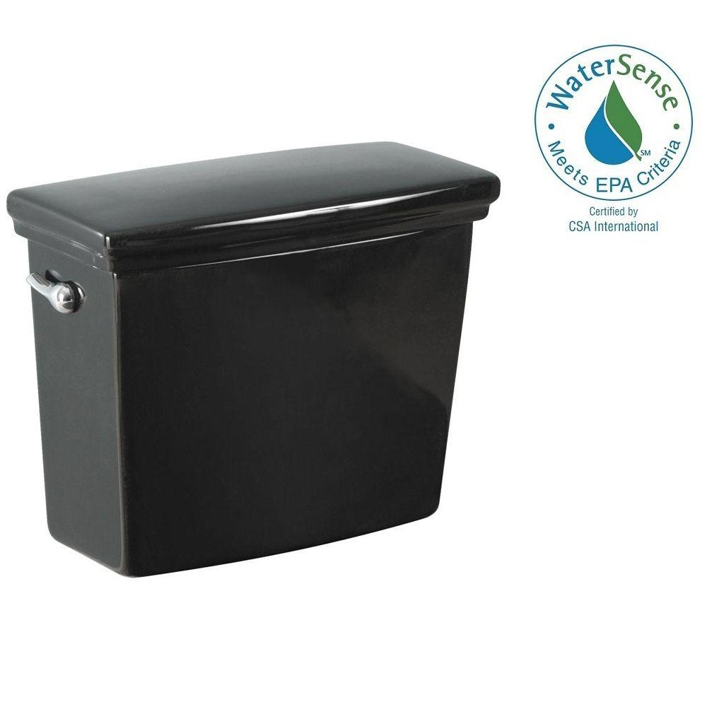 Foremost Structure Suite Toilet Tank Only in Black