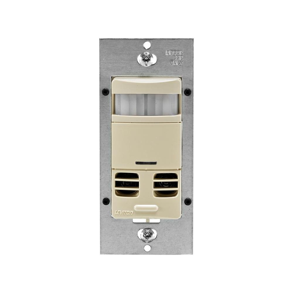 Multi-Technology Wall Switch Motion Sensor, Ivory