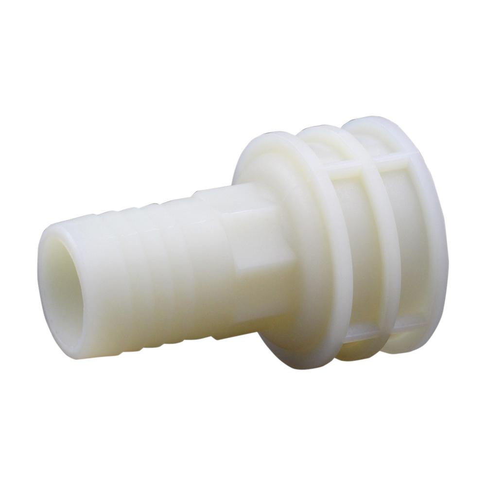 Everbilt 1-1/4 in. x 1-1/4 in. FIP Plastic Hose Barb Adapter