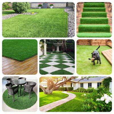 LABRADOR 45 Artificial Grass Synthetic Lawn Turf Sample Sold by 1 ft. x 1 ft.