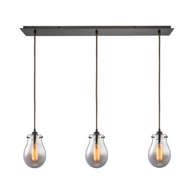 Jaelyn 3-Light Oil Rubbed Bronze Pendant