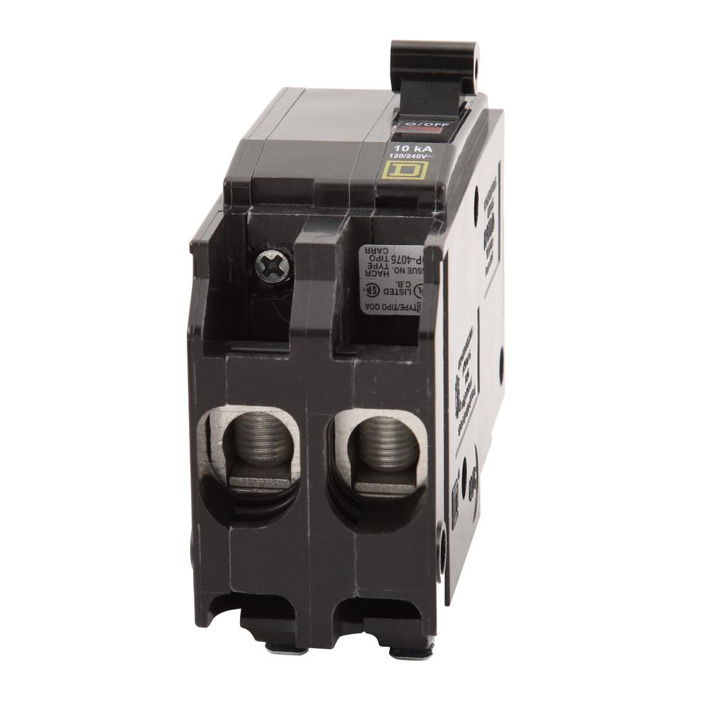 Square D Homeline 20amp Ground Fault Circuit Breaker At Lowescom