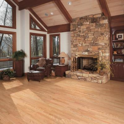 Red Oak Natural 3/4 in. Thick x 2-1/4 in. Wide x Random Length Solid Hardwood Flooring (18 sq. ft. / case)