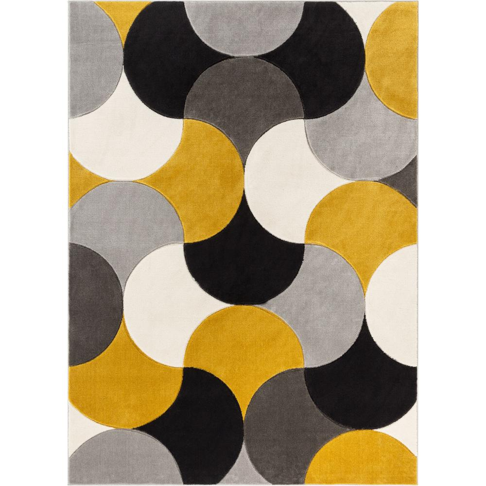 Well Woven Good Vibes Helena Gold Modern Geometric Shapes 7 Ft 10 In X 9 Ft 10 In Area Rug Gv 31 7 The Home Depot