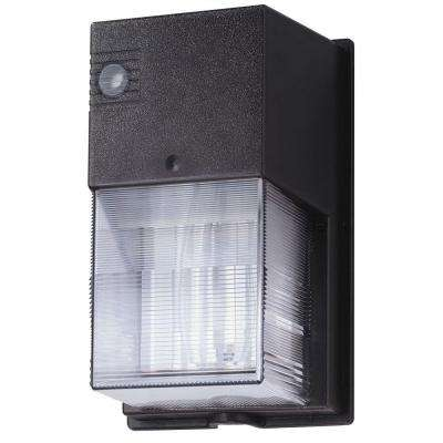 Outdoor Bronze Compact Fluorescent Wall Pack