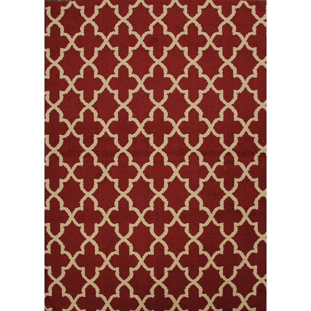 Millennium Mentone Ruby 8 ft. x 10 ft. Area Rug
