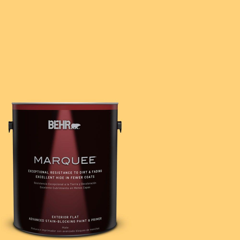 #P260 5 Yellow Jubilee Flat Exterior Paint