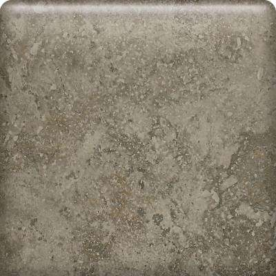 Heathland Sage 6 in. x 6 in. Glazed Ceramic Bullnose Wall Tile