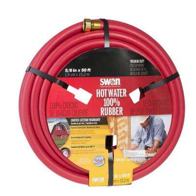 5/8 in. Dia x 50 ft. Premium Hot Heavy Duty Water Hose