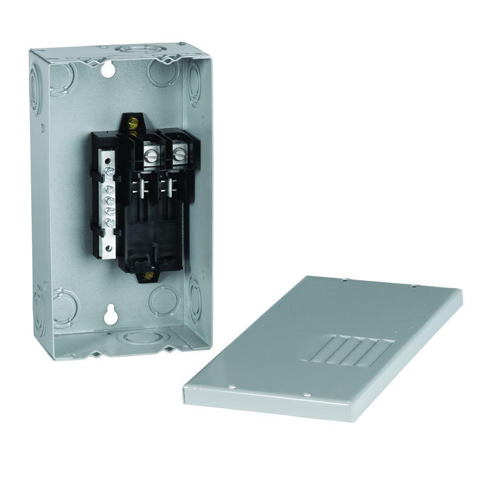 PowerMark Gold 40 Amp 2-Space 4-Circuit Indoor Single-Phase Main Lug Circuit Breaker Panel