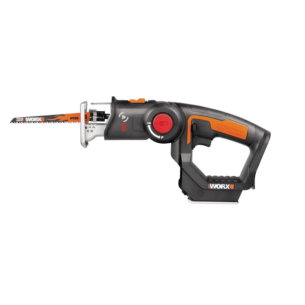 Worx Worx 20-Volt Axis Cordless Reciprocating and Jig Saw (Tool Only)