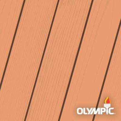Maximum 1-qt. Muted Mesa Solid Color Exterior Stain and Sealant in One Low VOC