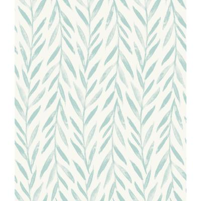 Willow Blue Paper Peelable Roll (Covers 34 sq. ft.)