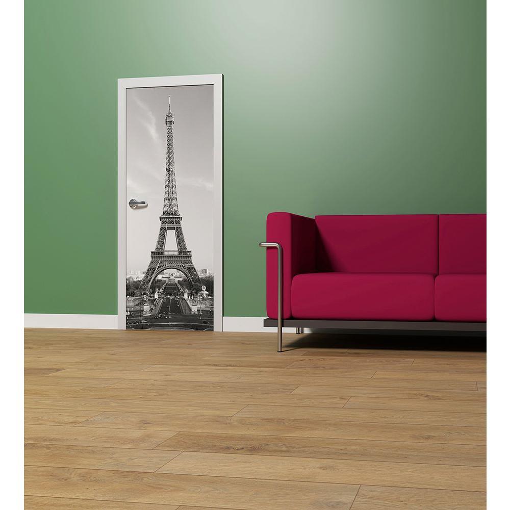 34 in. H x 79 in. W La Tour Eiffel Wall Mural