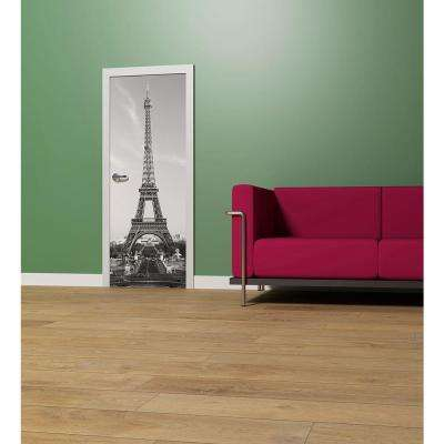 34 in. H x 79 in. W La Tour Eiffel Wall Mural