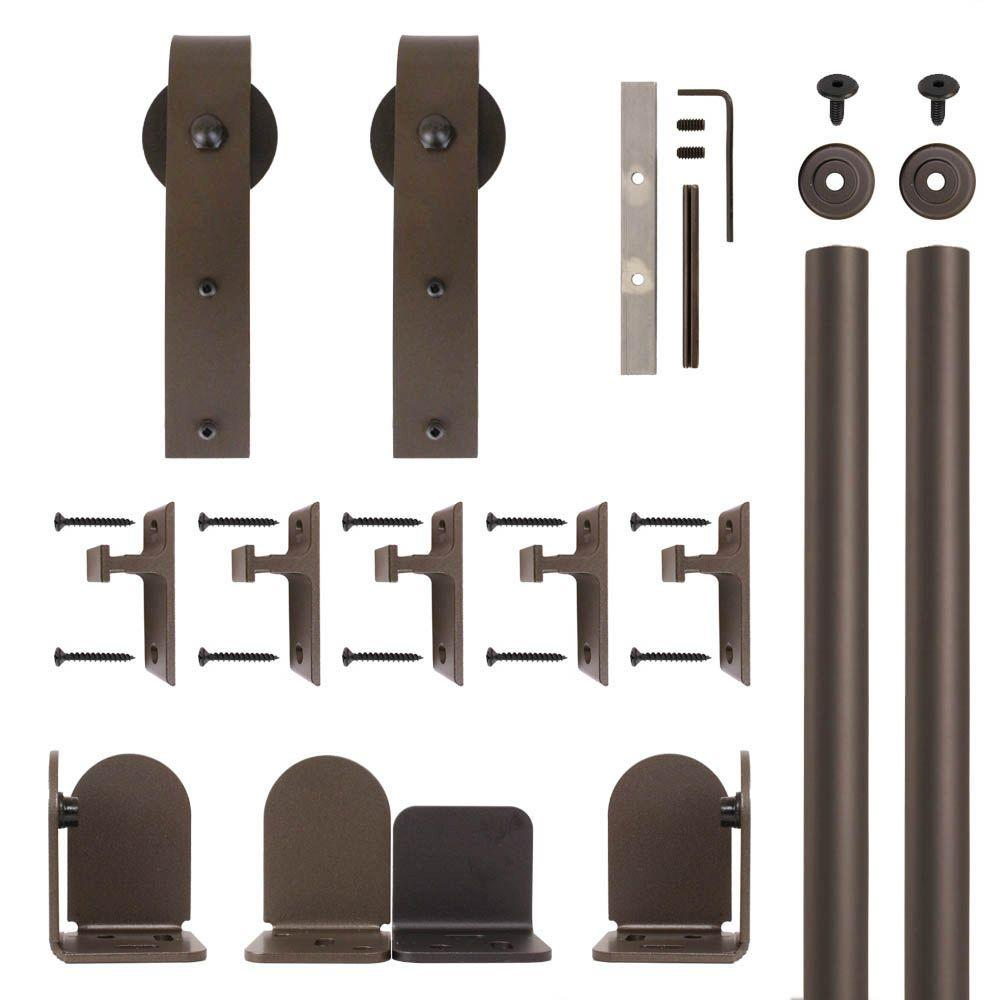 Quiet Glide Hook Hardware Oil Rubbed Bronze Rolling Door