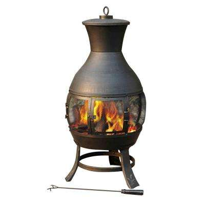 Aurora Steel Chiminea