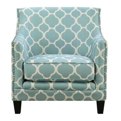 Deena Aqua Accent Chair