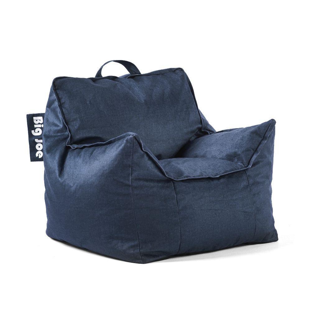 Big Joe Kids Mitten Chair Cobalt Lenox Bean Bag 0925657